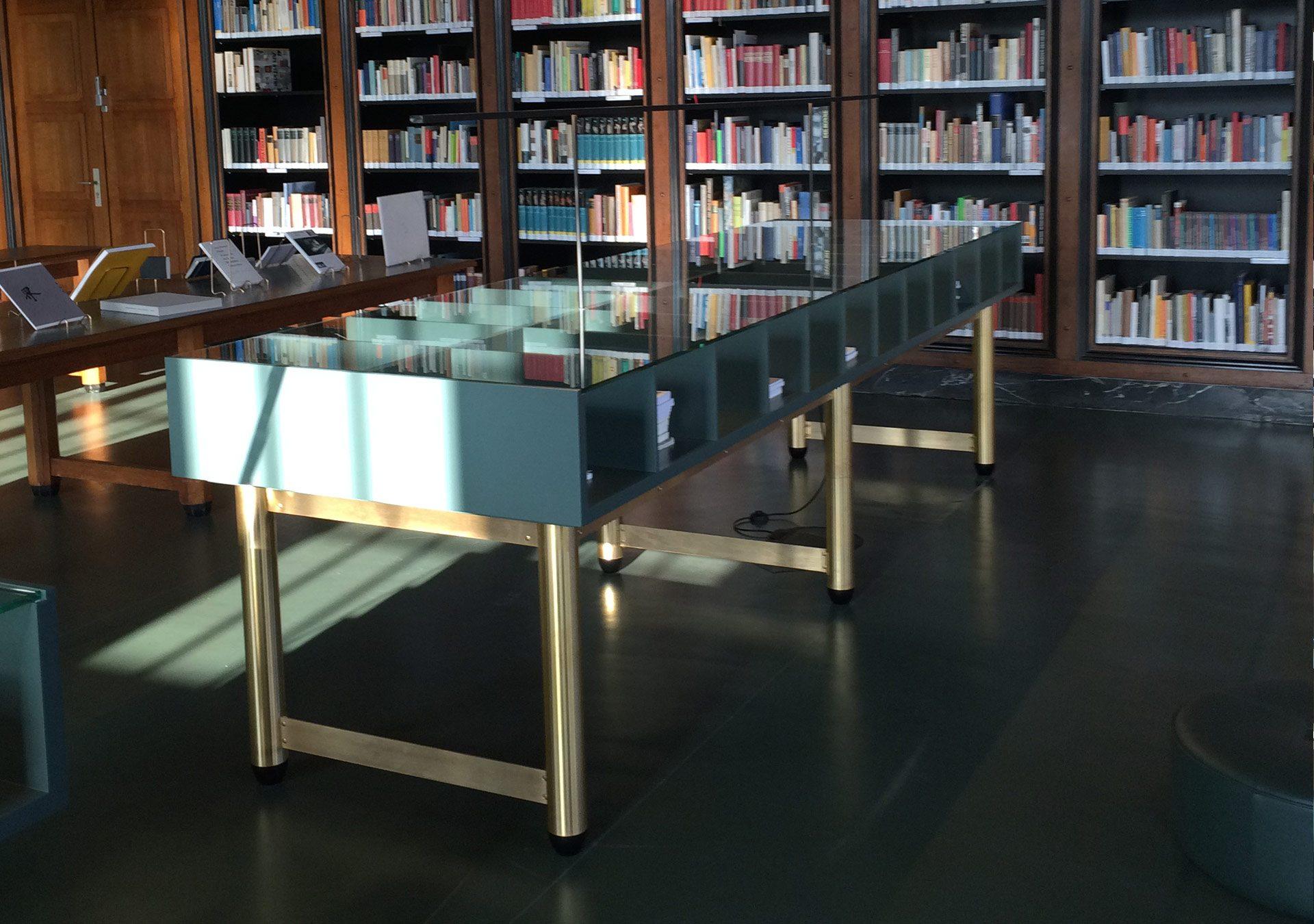 Oliver Schau, Library Design, Bibliothek, HFBK Hamburg, Hochschule für Bildende Künste Hamburg,